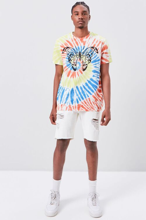 Butterfly Graphic Tie-Dye Tee, image 4