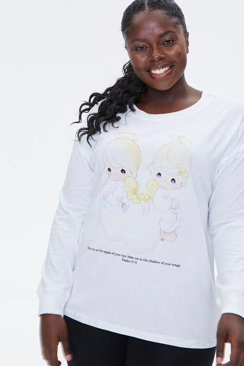 Plus Size Precious Moments Psalm Tee, image 1
