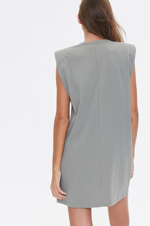 Padded T-Shirt Dress, image 3