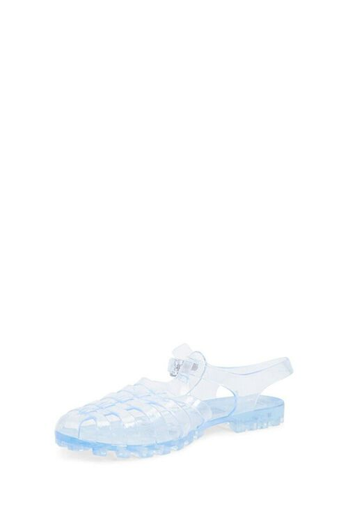 CLEAR Strappy Jelly Sandals, image 4