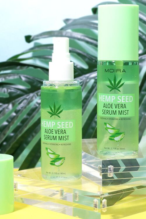 Hemp Seed Aloe Vera Serum Mist, image 2