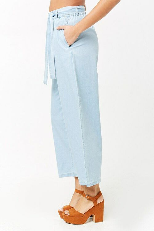 Wide-Leg Denim Pants, image 3