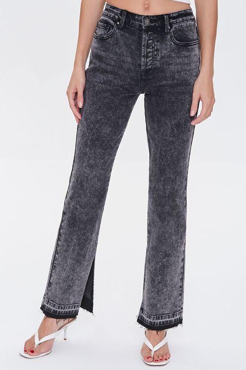 Frayed Release-Hem Jeans, image 2