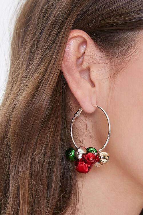 Jingle Bell Hoop Earrings, image 1