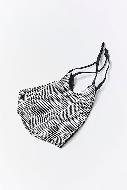 Glen Plaid Face Mask, image 2