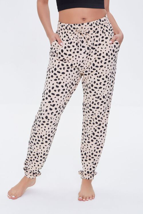 Cheetah Print Lounge Pants, image 2