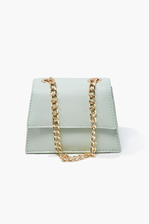 MINT Mini Faux Leather Crossbody Bag, image 2