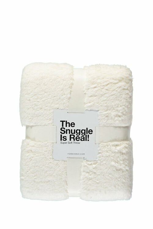 Faux Sherpa Throw Blanket, image 1