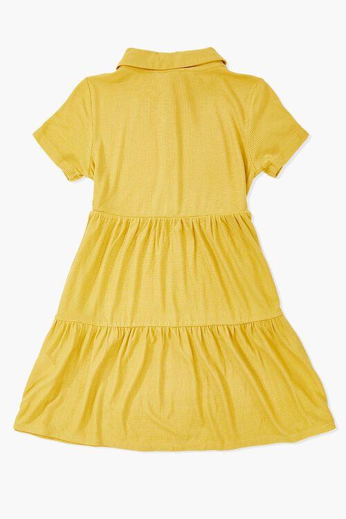 Girls Tiered Shirt Dress (Kids), image 2