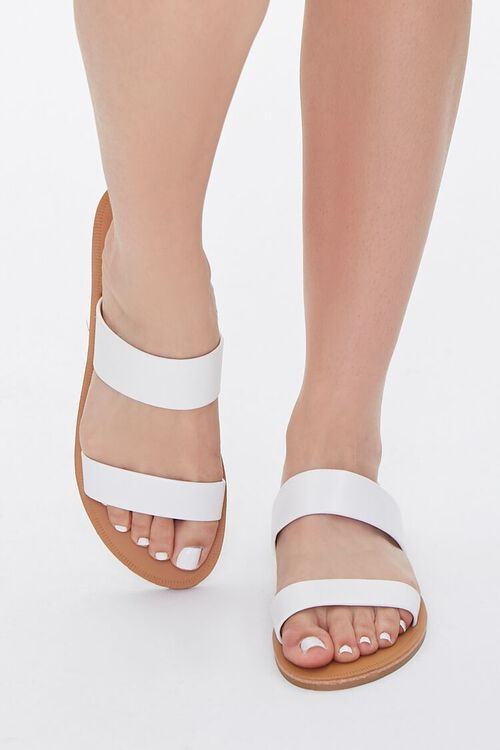 Faux Leather Strapped Sandals, image 4