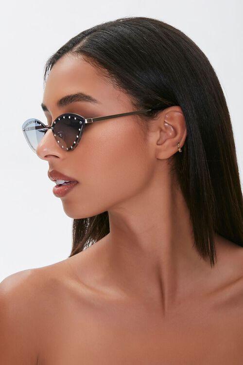 Studded Cat-Eye Sunglasses, image 2
