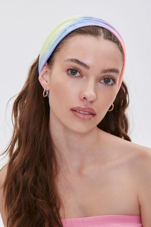 Soft Rainbow Wash Headwrap, image 1
