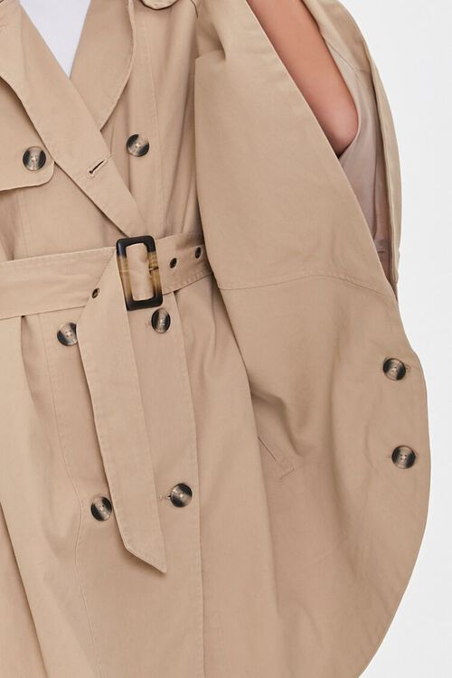 Double-Breasted Trench Jacket, image 5
