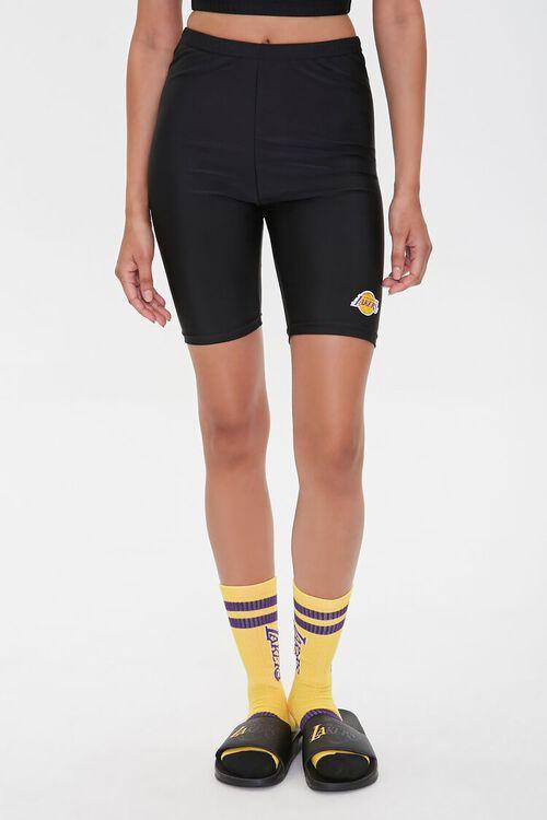 Lakers Graphic Biker Shorts, image 3