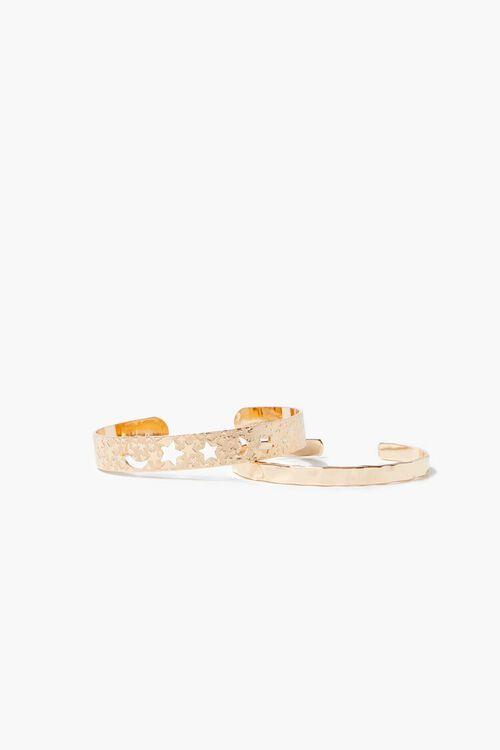 Star Cutout Cuff Bracelet Set, image 1