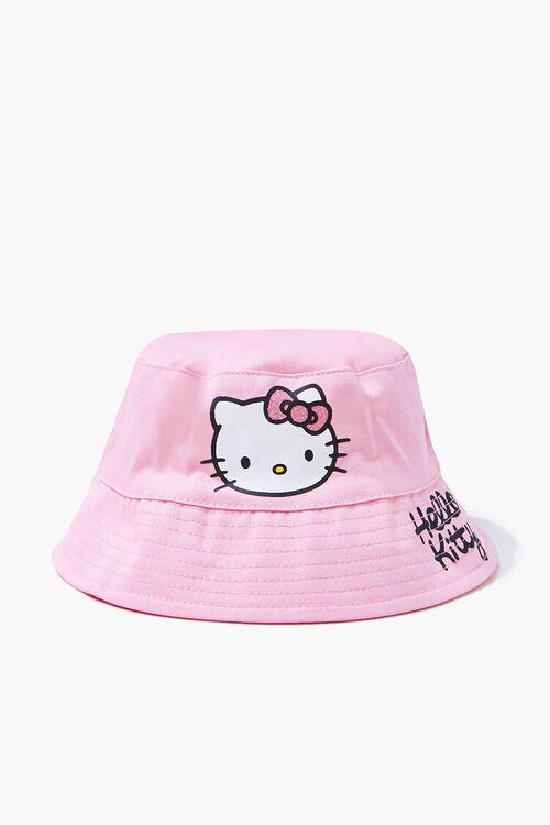 Girls Hello Kitty Bucket Hat (Kids), image 2