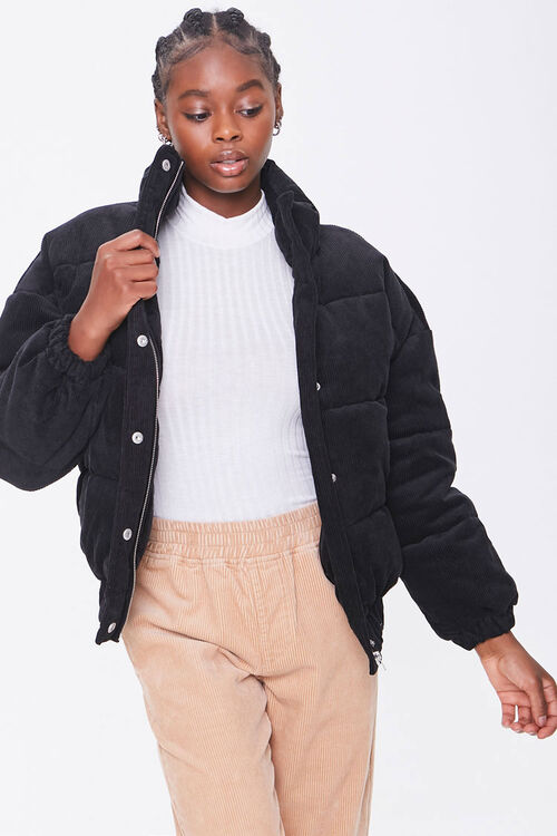 Corduroy Puffer Jacket, image 5