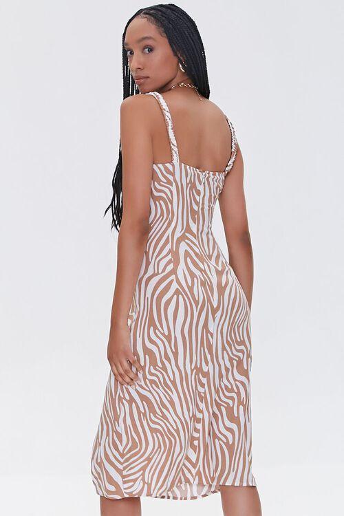 Tiger Striped Slit Dress, image 3