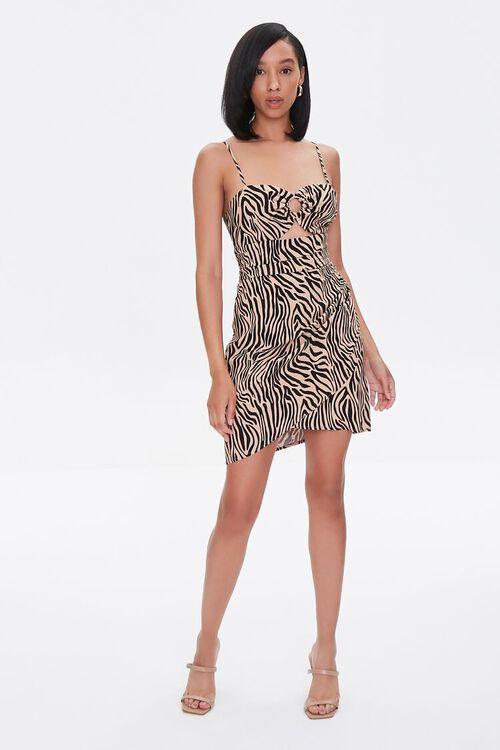 Tiger Print Mini Dress, image 5