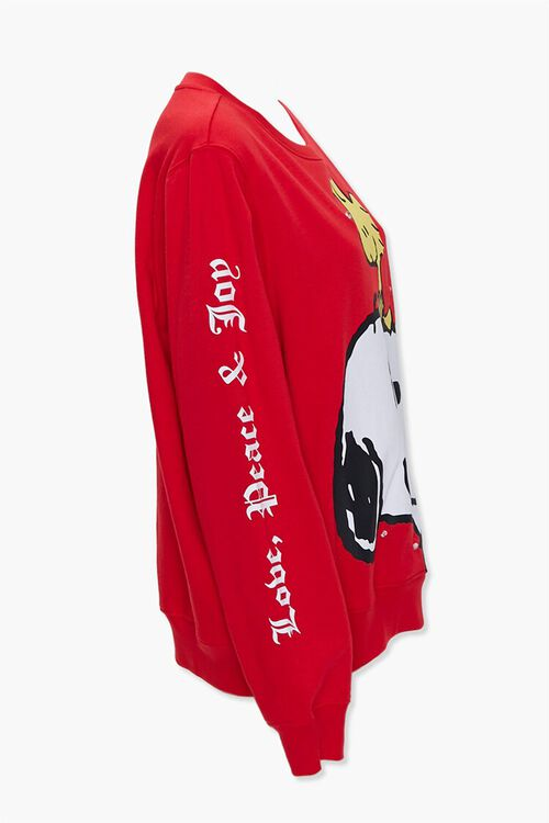 RED/MULTI Snoopy Light-Up Pullover, image 2