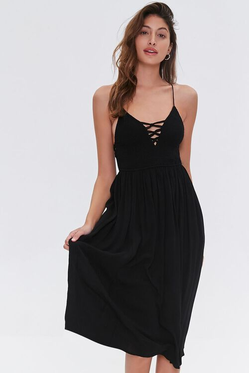 Lattice Cami Dress, image 1