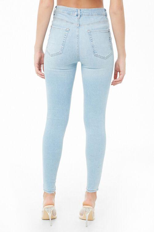 LIGHT DENIM Sculpted High-Rise Skinny Jeans, image 3