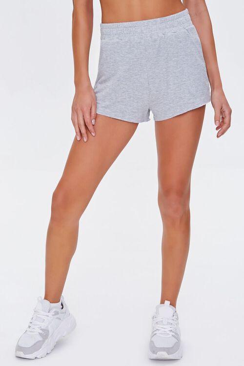 Heathered Pull-On Shorts, image 2