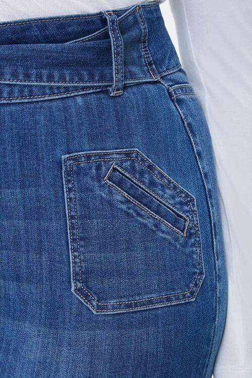 Plus Size High-Rise Flare Jeans, image 5