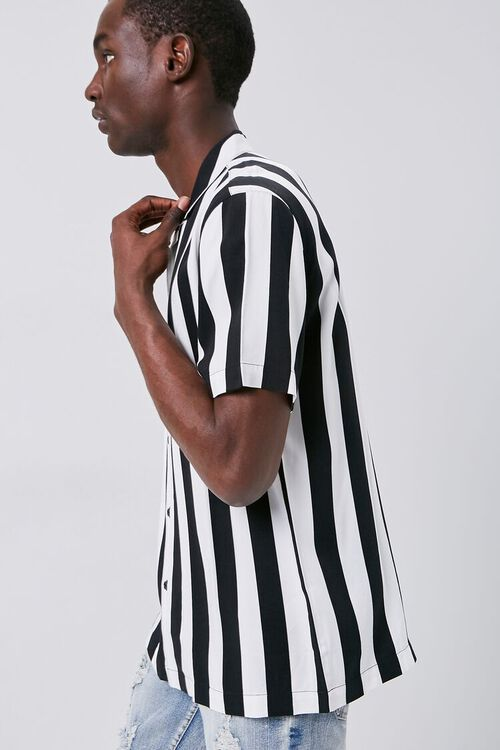 Classic Fit Bold Striped Shirt, image 2