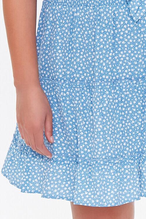 Plus Size Floral Print Mini Skirt, image 5