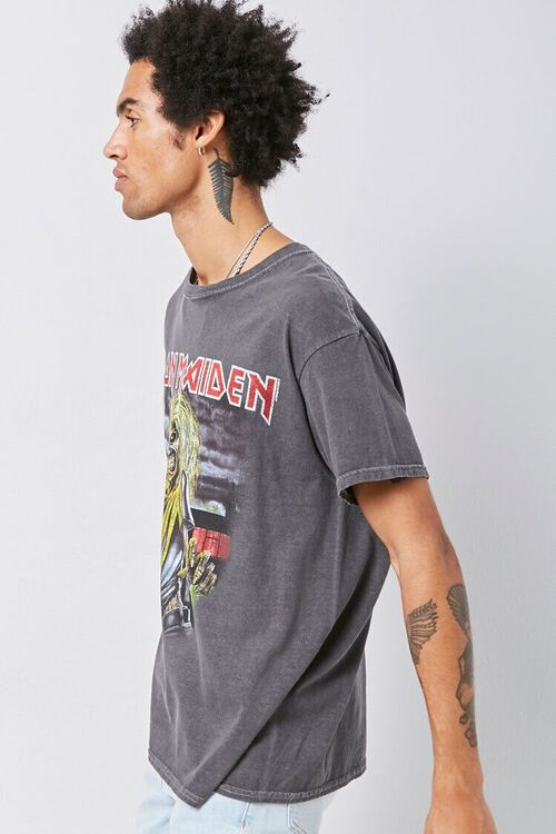CHARCOAL/MULTI Iron Maiden Graphic Tee, image 2