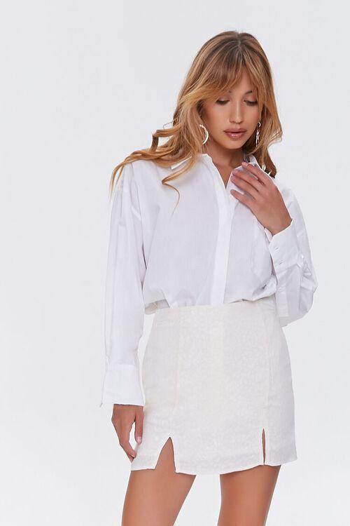 M-Slit Mini Skirt, image 1