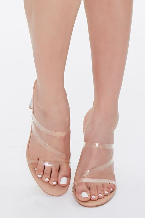 Strappy Lucite Block Heels, image 4