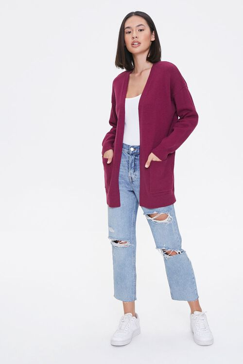 Drop-Sleeve Cardigan Sweater, image 4