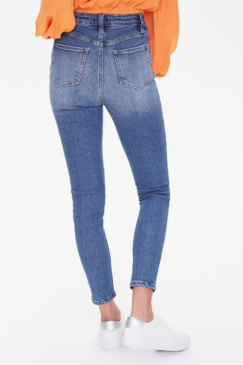 Premium High-Rise Skinny Ankle Jeans, image 4