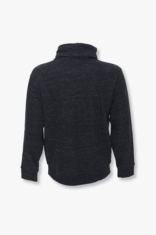 Fleece Turtleneck Pullover, image 3