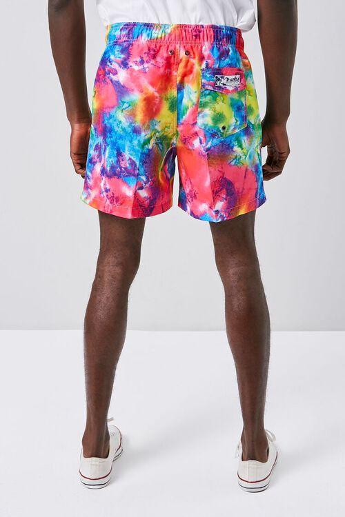 Tie-Dye Wash Swim Trunks, image 4