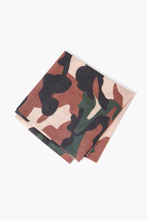 Camo Print Scarf, image 1