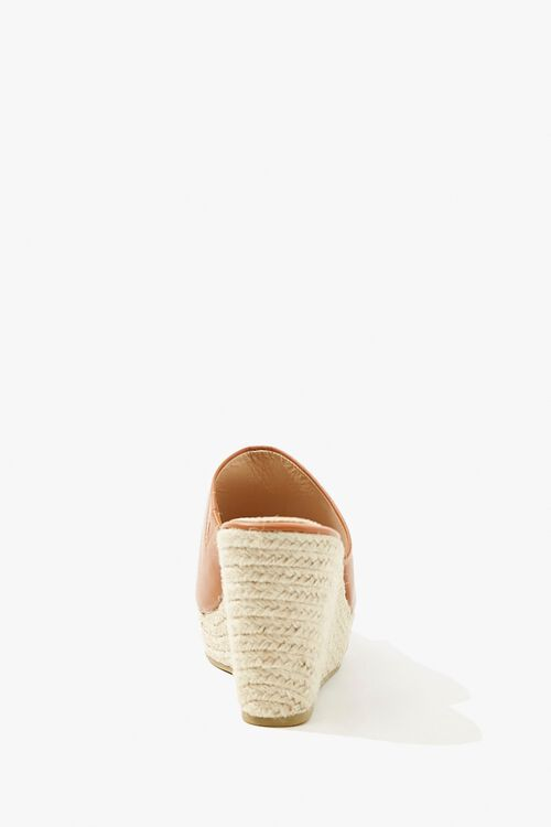 Faux Leather Espadrille Wedges, image 2