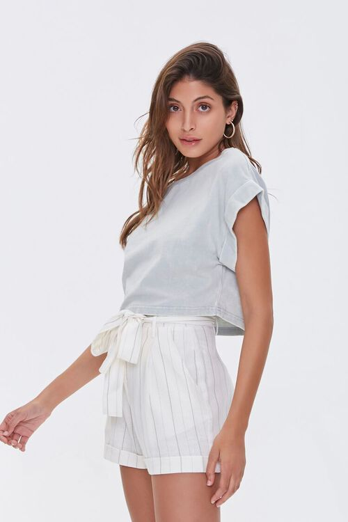 Mineral Wash High-Low Tee, image 2