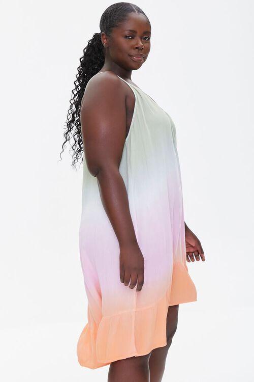 Plus Size Ombre Cami Mini Dress, image 2