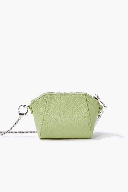 MINT Faux Leather Crossbody Bag, image 1