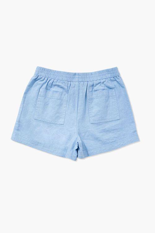 Girls Linen-Blend Shorts (Kids), image 2