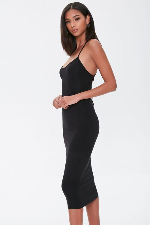 Lace-Up Bodycon Dress, image 2