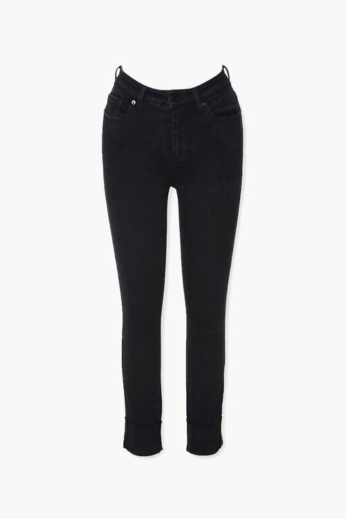 Recycled Mid-Rise Skinny Jeans, image 1