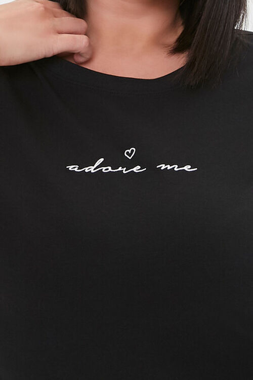 Plus Size Adore Me Graphic Tee, image 5