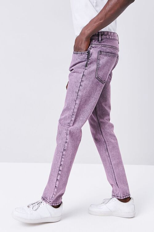Stonewashed Slim-Fit Jeans, image 3