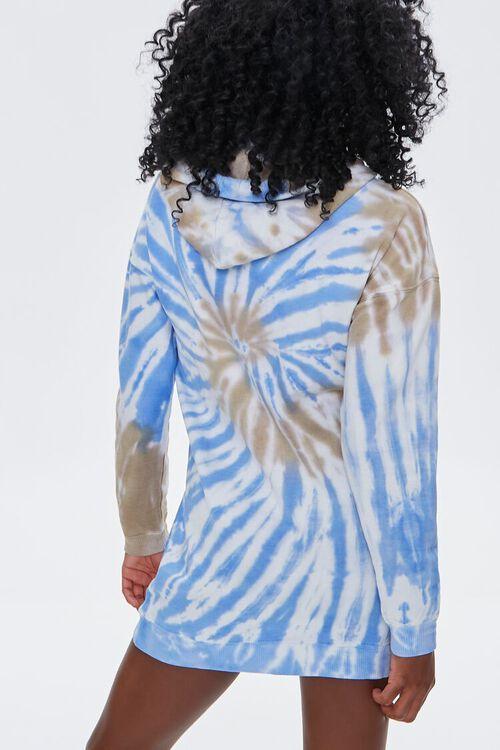 Tie-Dye Fleece Hoodie Dress, image 3