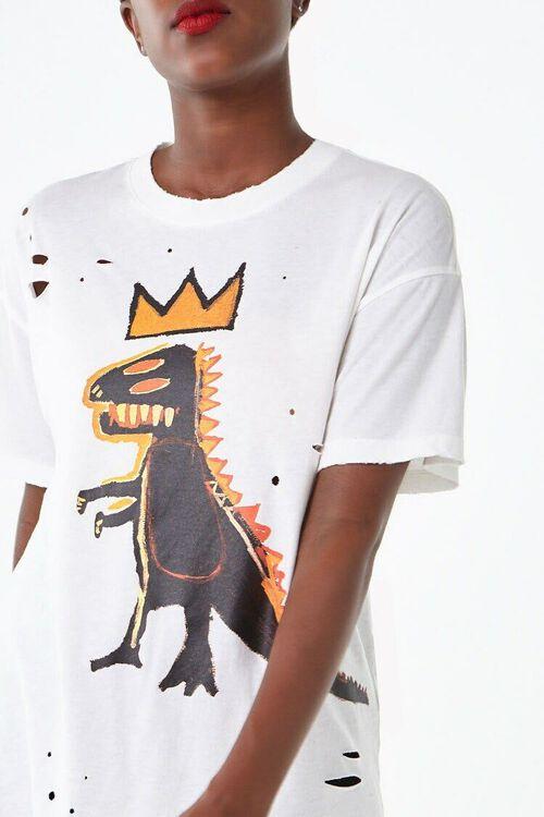 WHITE/MULTI Basquiat Graphic Tee, image 1
