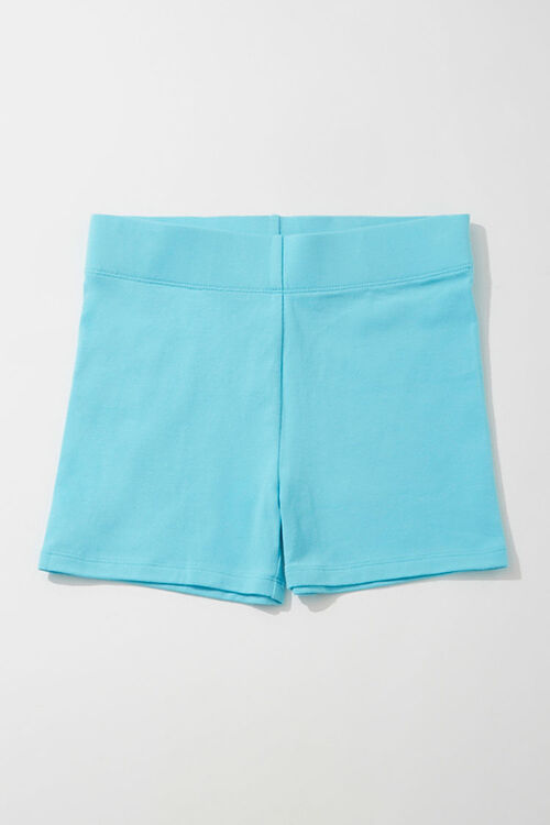 AQUA Cotton-Blend 3-Inch Biker Shorts, image 1